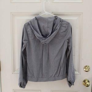 OBEY Grey Lightweight Zip-up